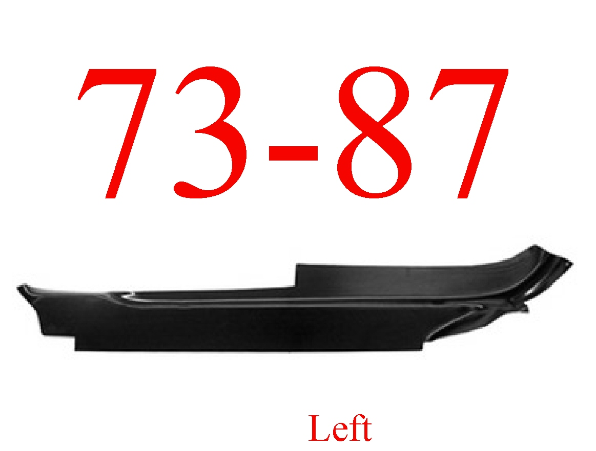 73-87 Chevy Left Cab Floor Outer Section