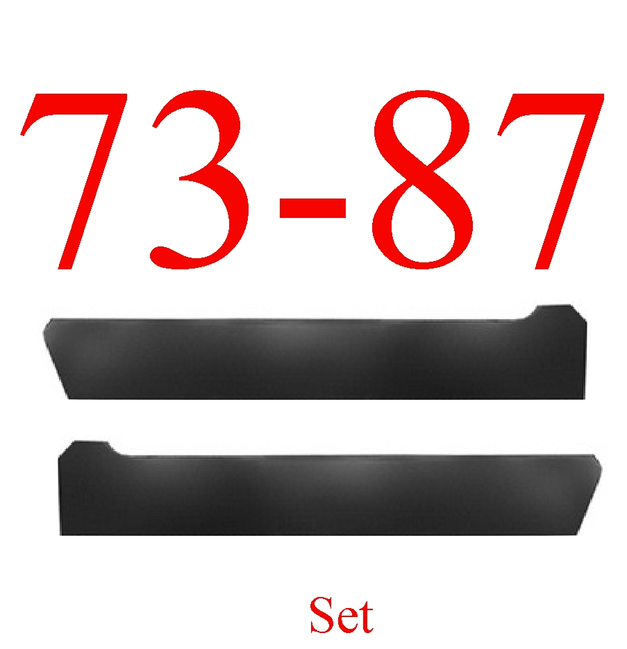 73-87 Chevy Stock Inner Rocker Panel Set