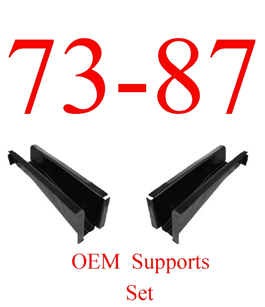 73-87 OEM Chevy Set Of 2 Cab Floor Supports