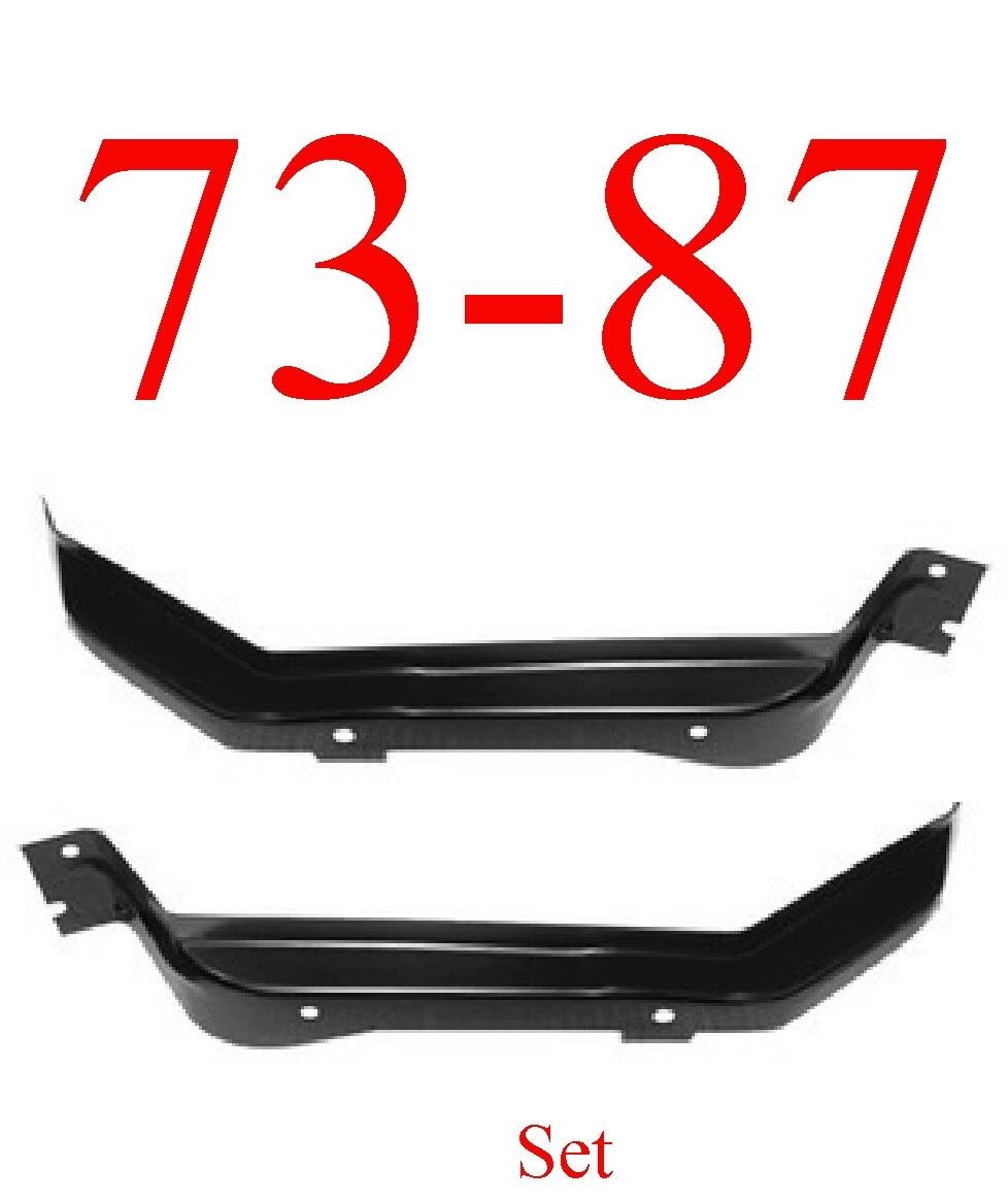 73-87 Chevy Cab Floor Brace Set