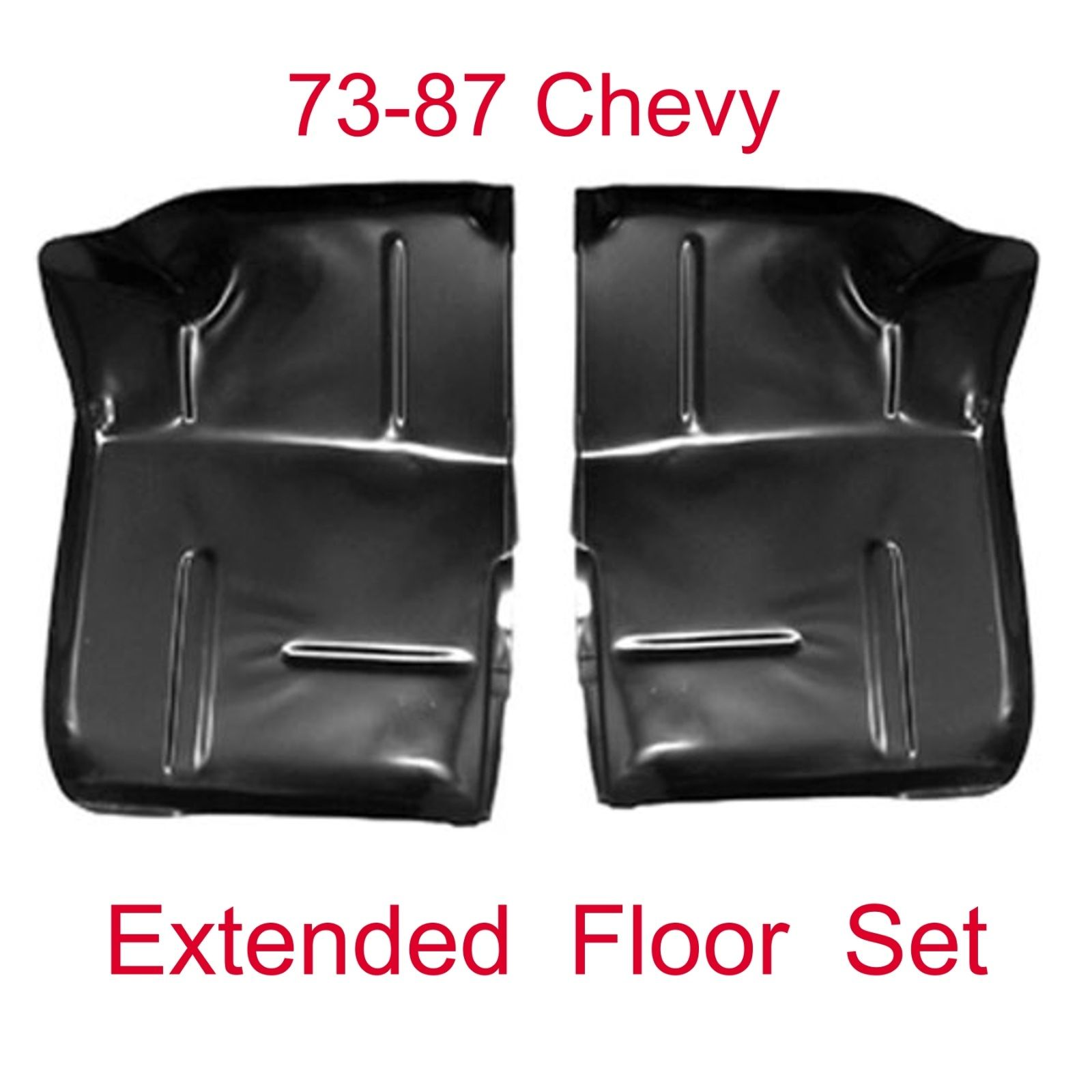 73 87 Extended Floor Pan Set