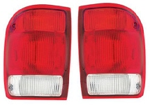 2000 Ford Ranger 2Pc Tail Light Set