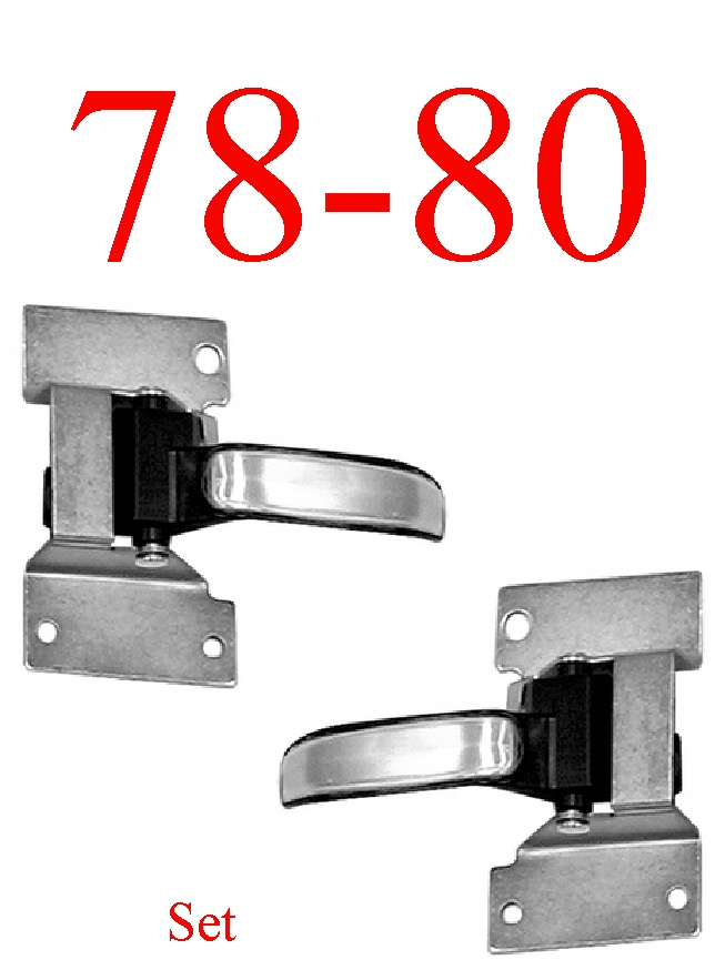 78-80 Chevy Inner Door Handle Assembly Set