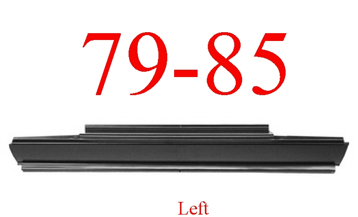 79-85 Dodge Ram D50 Left Rocker Panel