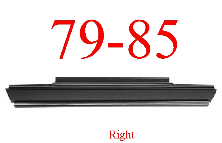 79-85 Dodge Ram D50 Right Rocker Panel
