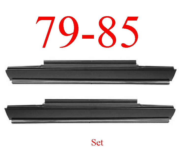 79-85 Dodge Ram D50 Rocker Panel Set