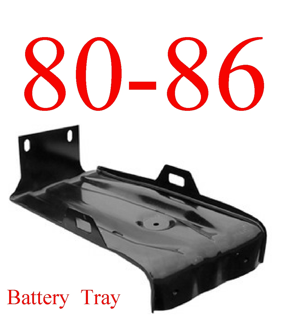 80-86 Battery Tray Assembly