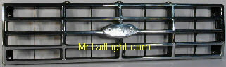 80-86 Ford Truck & Bronco Chrome Grill