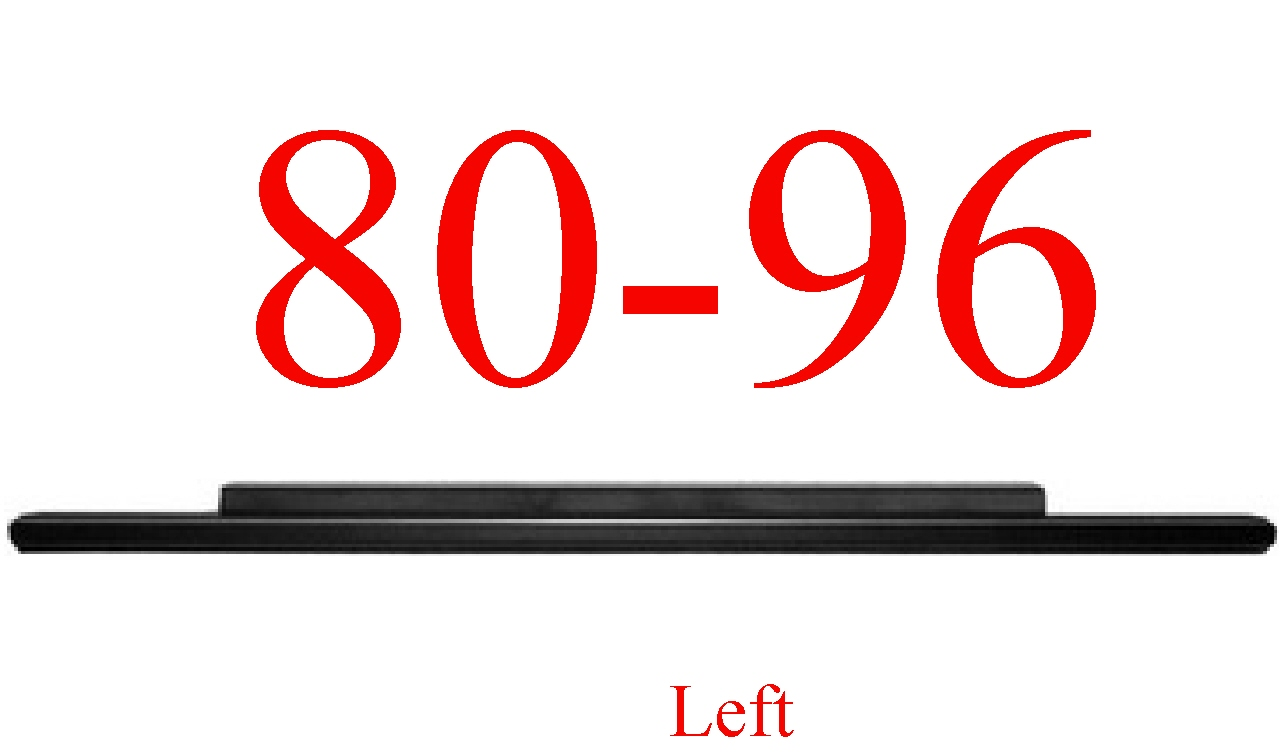80-96 Stock Left Slip-On Rocker Panel
