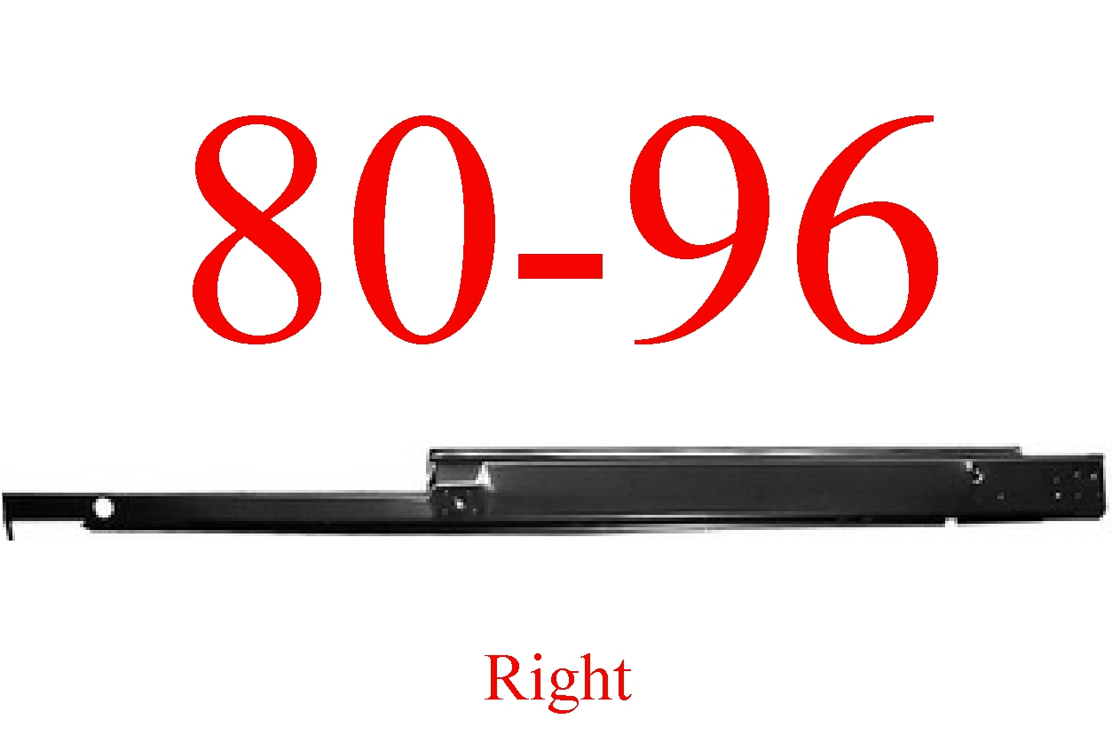 80-96 Ford OEM Right Extended Cab Rocker Panel