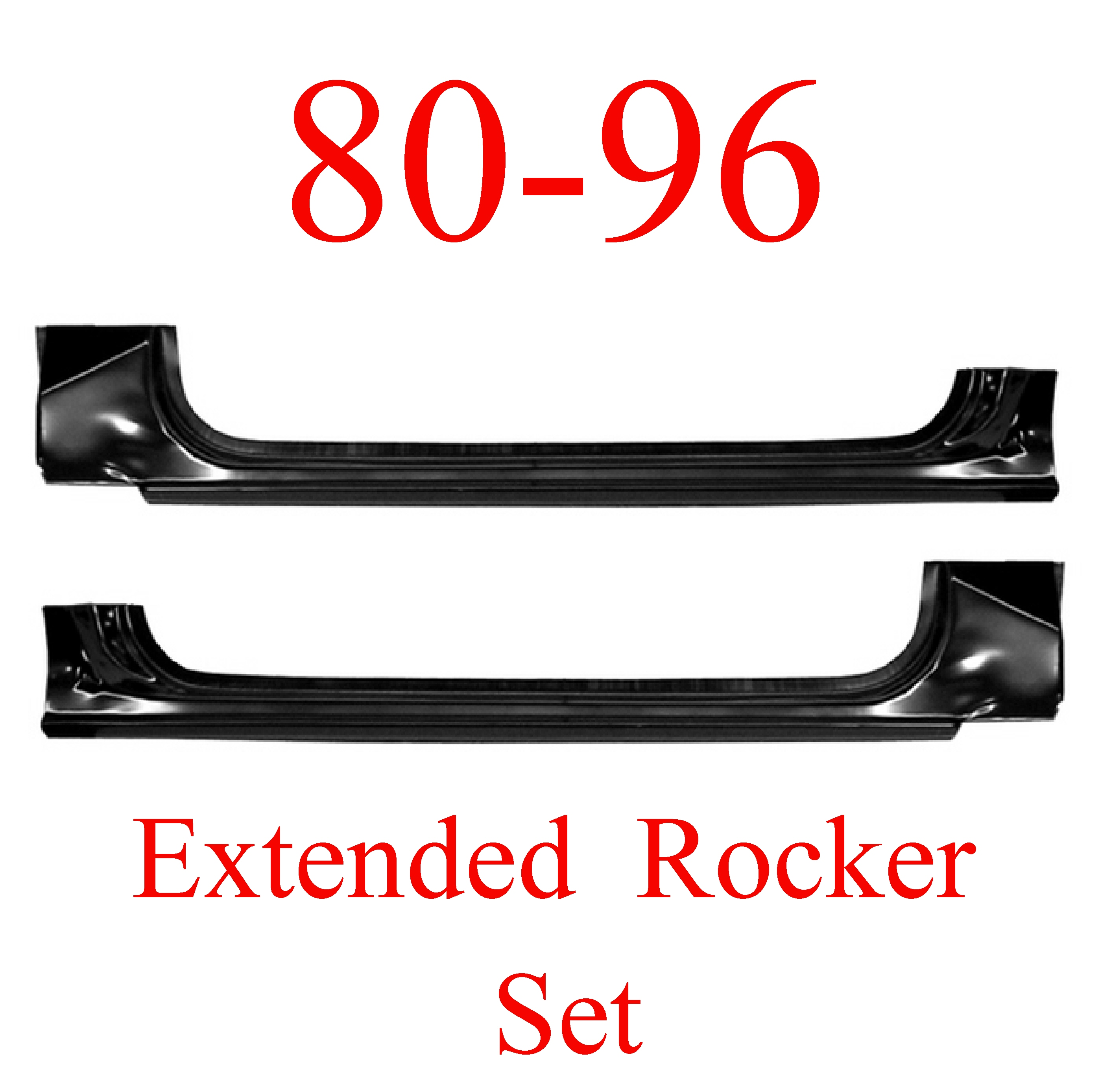 80-96 Ford Extended Rocker Panel SET Truck & Bronco