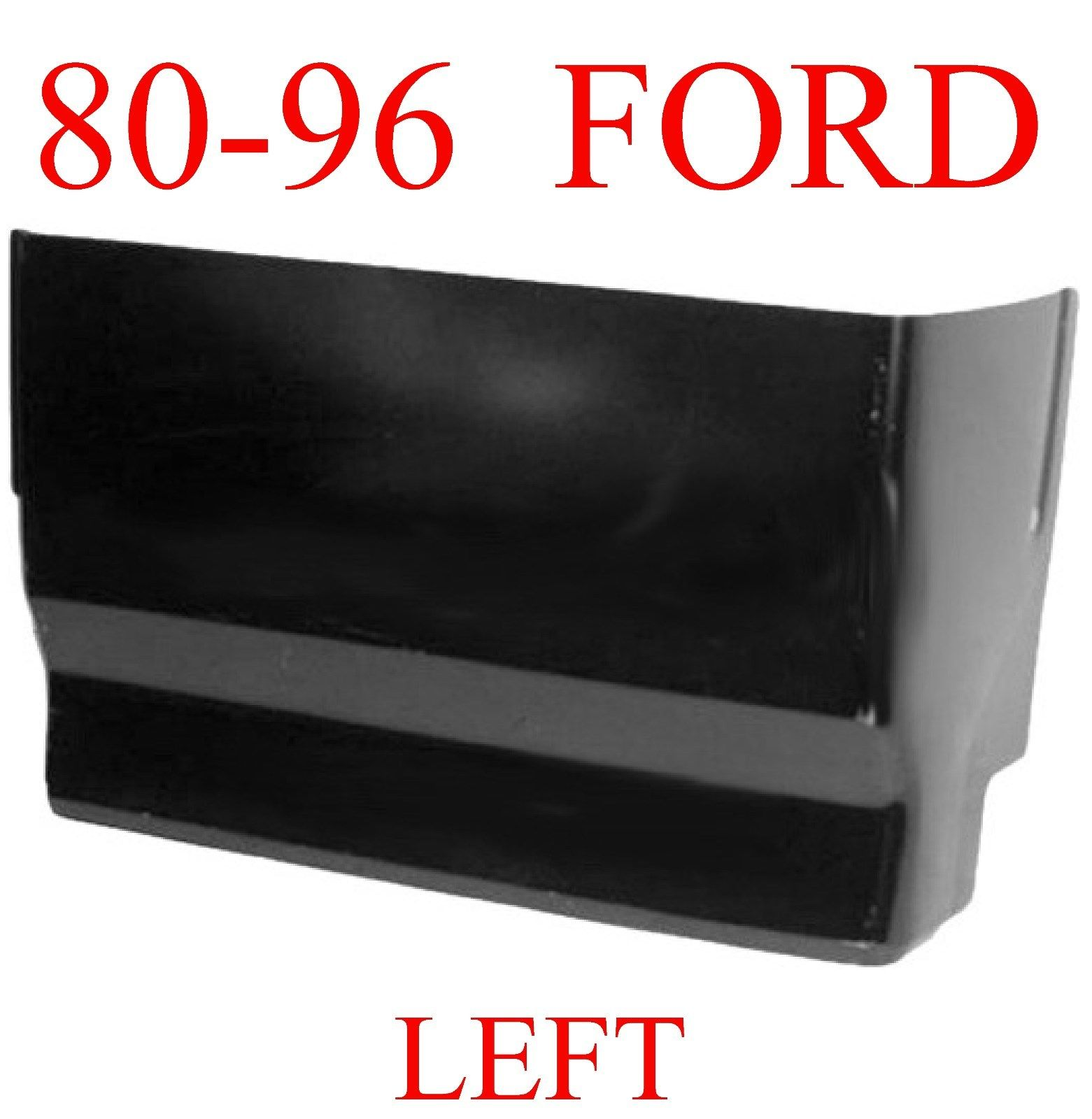 80-96 Ford LEFT Extended Super Cab Corner,
