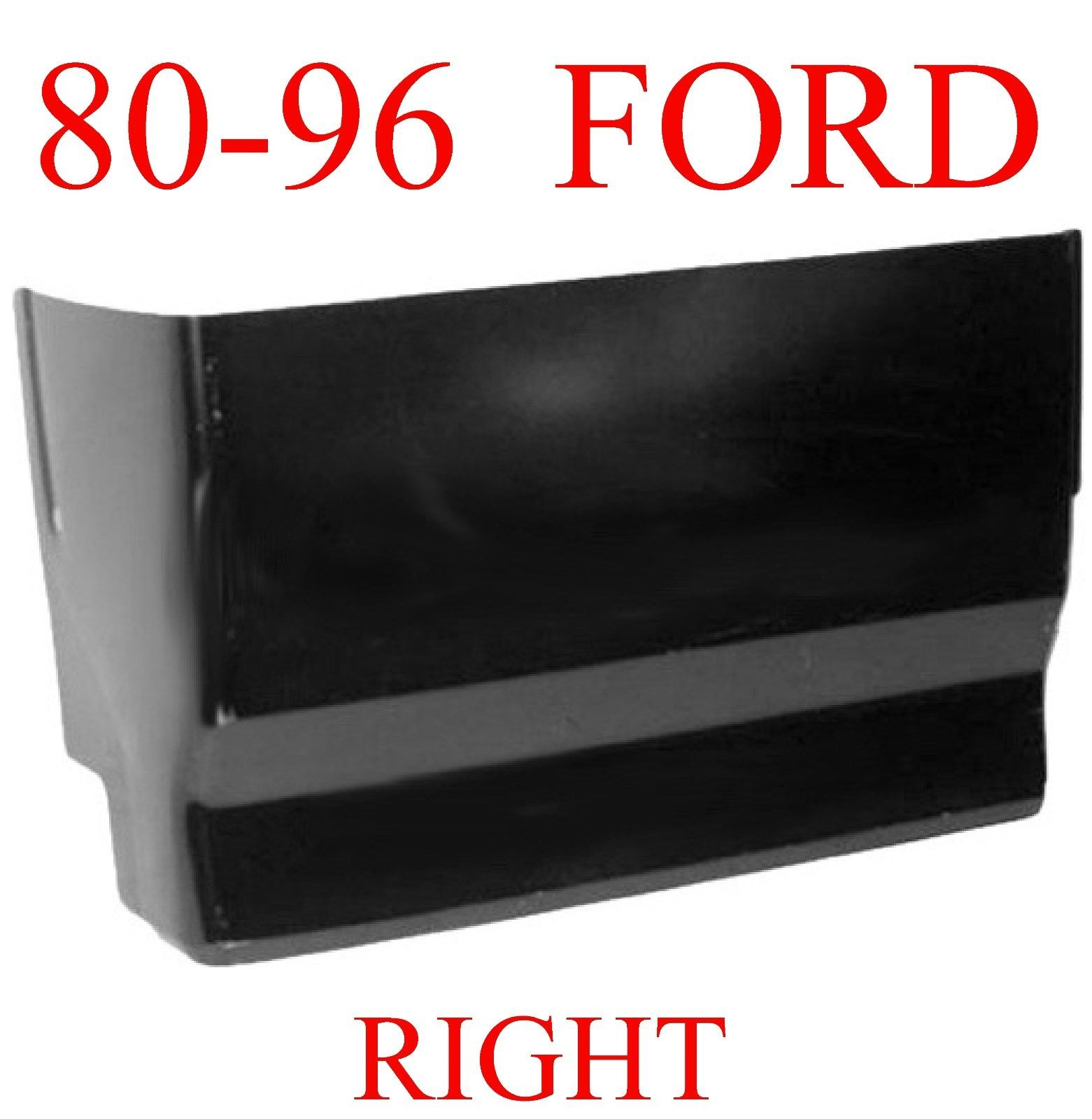 80-96 Ford RIGHT Extended Super Cab Corner