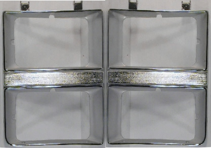 81-82 Chevy 2Pc Head Light Door Kit 4HL