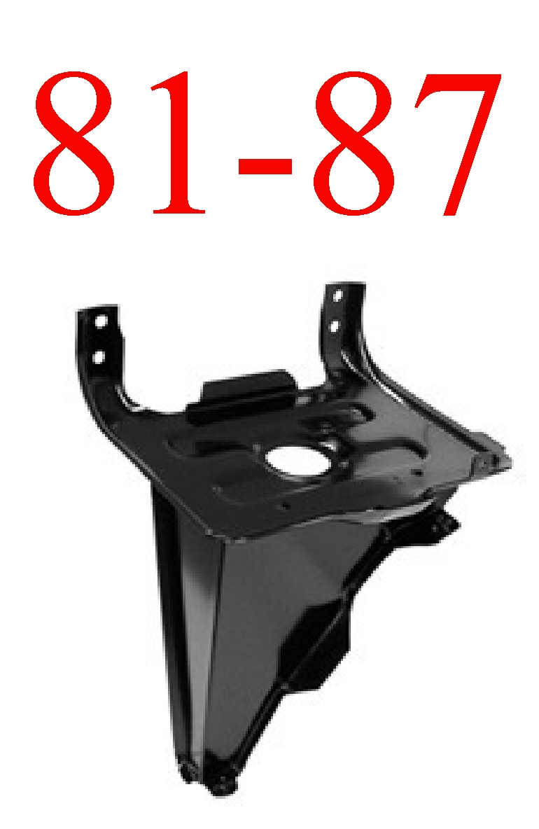 81-87 Chevy Battery Tray With Support