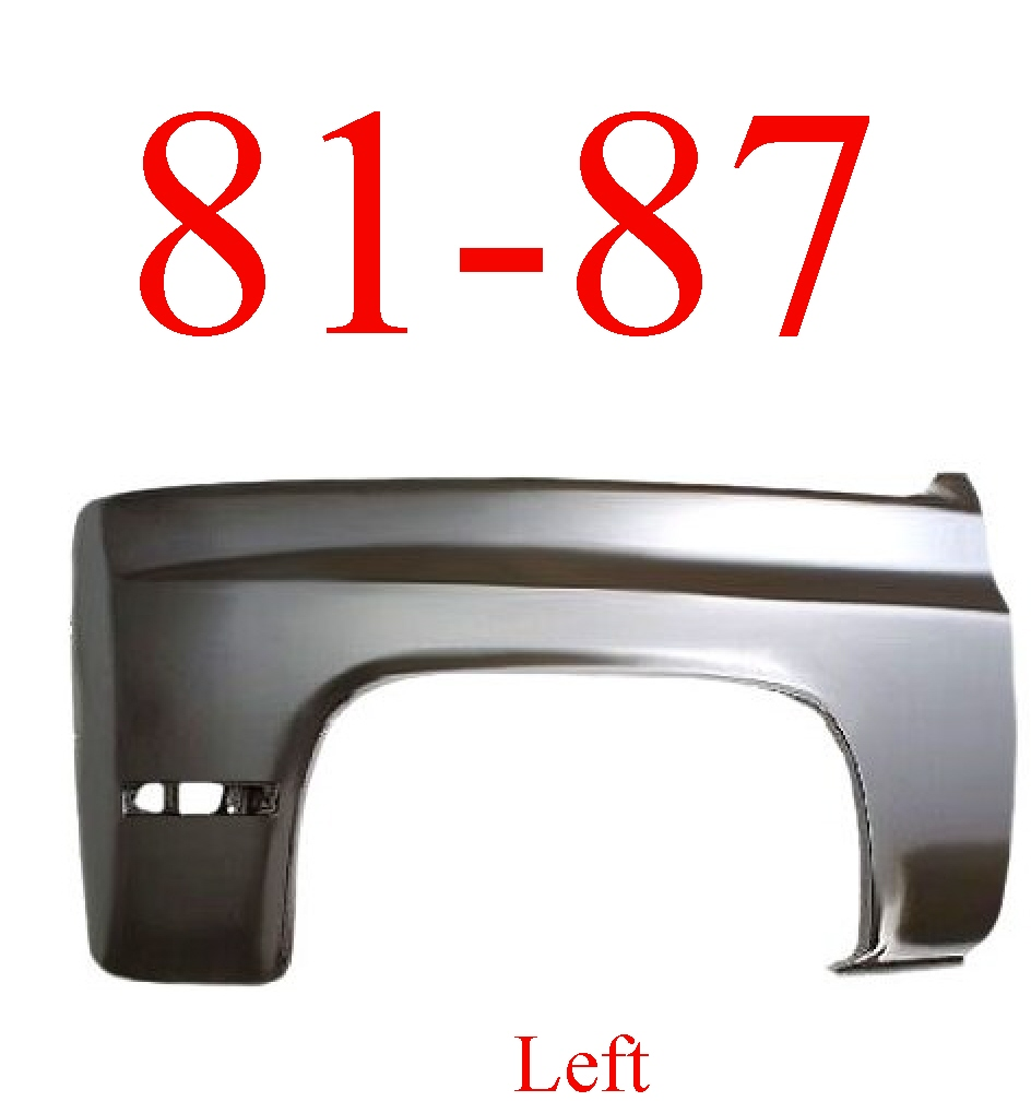 73 87 91 chevy gmc rear tail light harness mrtaillight com online 81 87 91 chevy gmc left fender assembly
