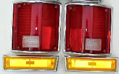 81-87-91 Chevy & GMC Truck 4Pc Light Kit, Tails & Fender Lights