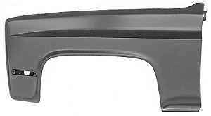 81-87-91 Chevy & GMC Left Fender Assembly