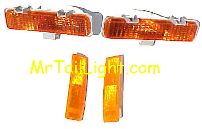 82-93 S10 S-Series 4Pc Front Light Kit