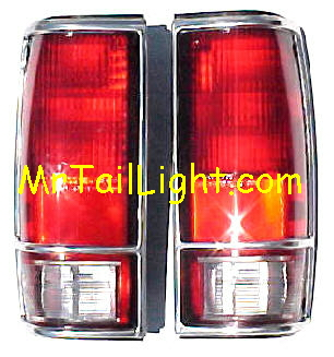 82-93 S10 S-Series Chrome Tail Light Set