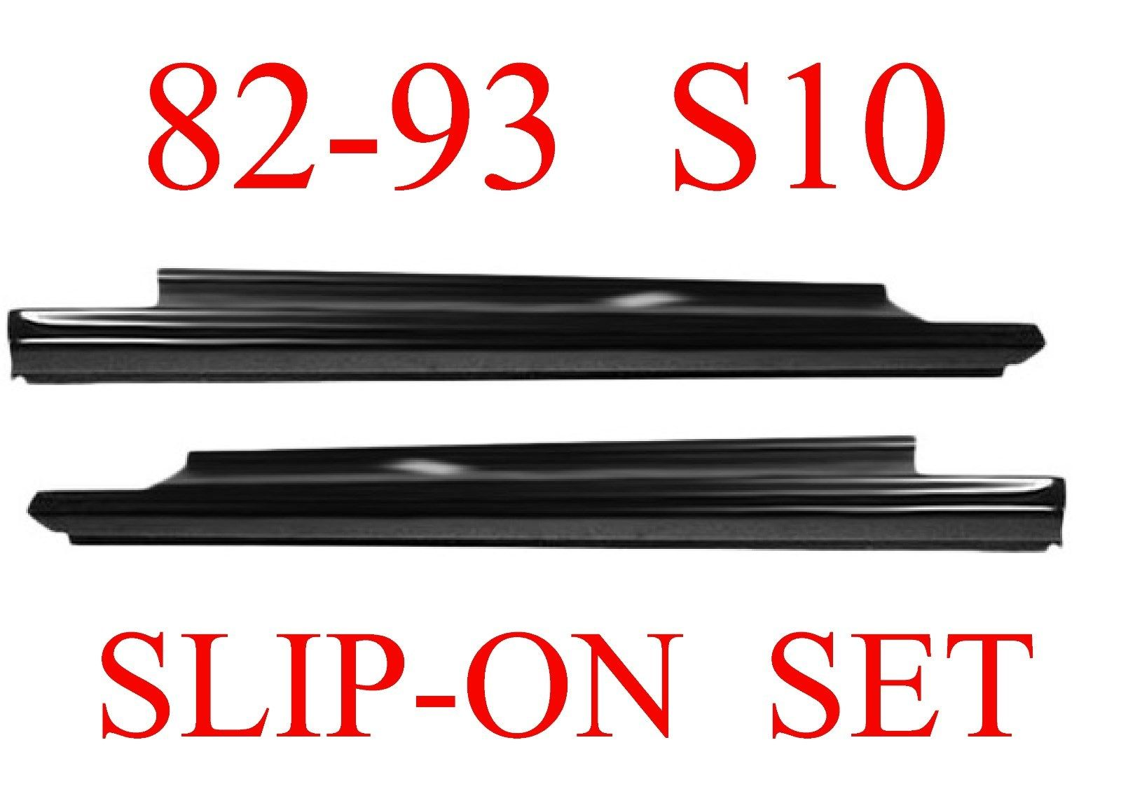 82 93 S10 Slip-On Rocker Panel Set