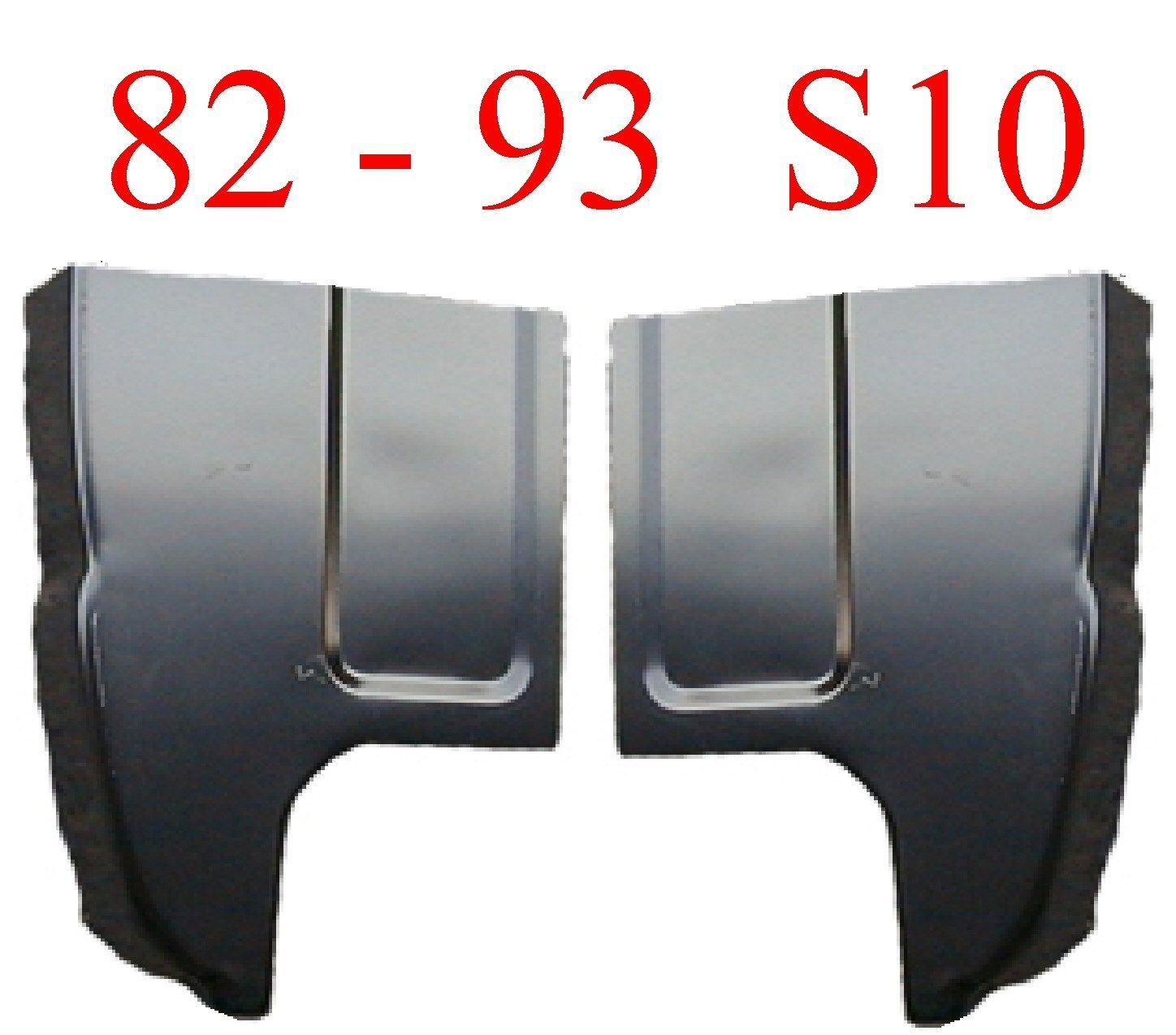 82-93 S-Series Large Cab Corner 2Pc Set