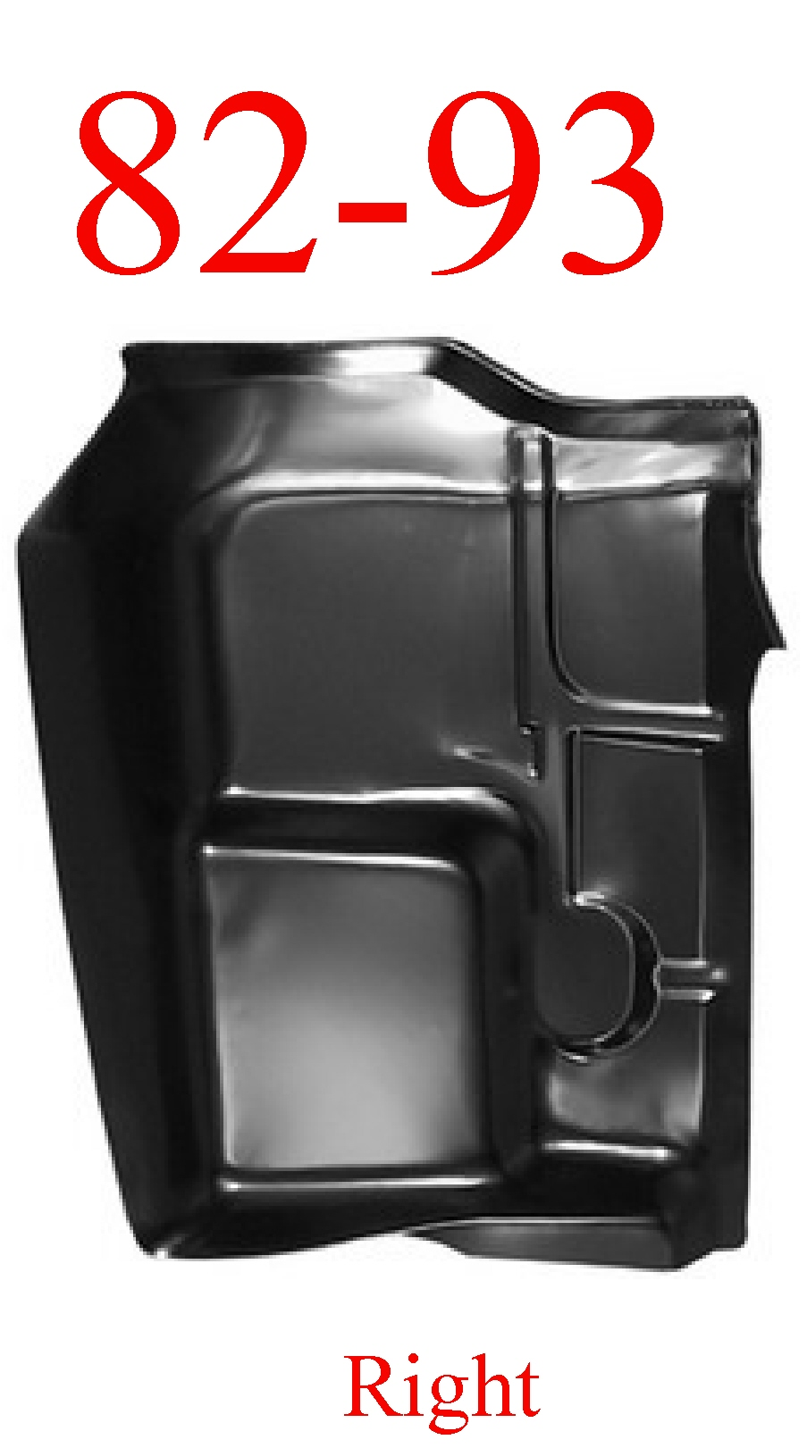 82-93 Chevy S10 Right Front Cab Floor Pan, MrTailLight com Online Store