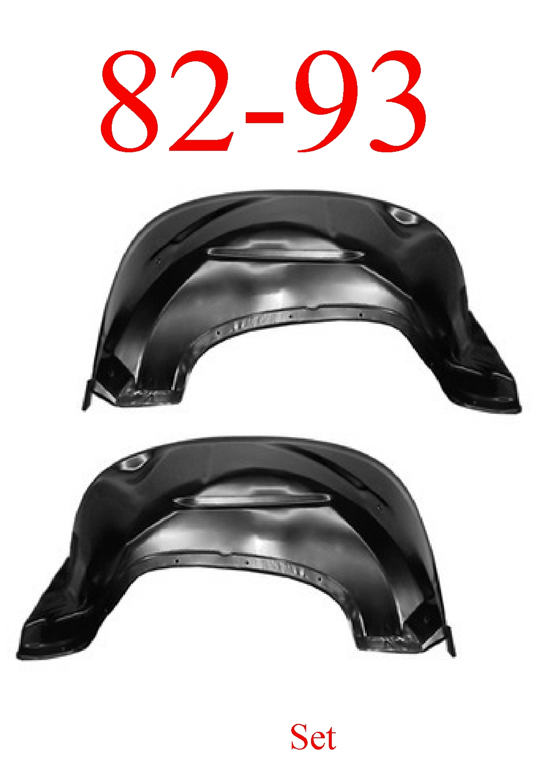 82-93 Chevy S10 Inner Fender Set