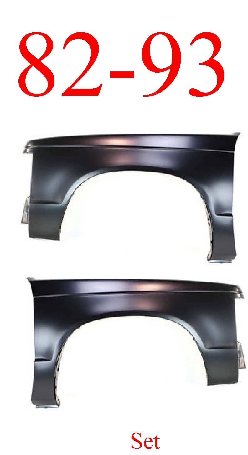 82-93 Chevy S10 Fender Panel Set