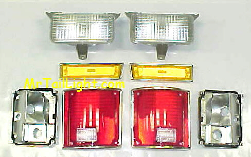 83-87 Chevy & GMC 8Pc Light Kit