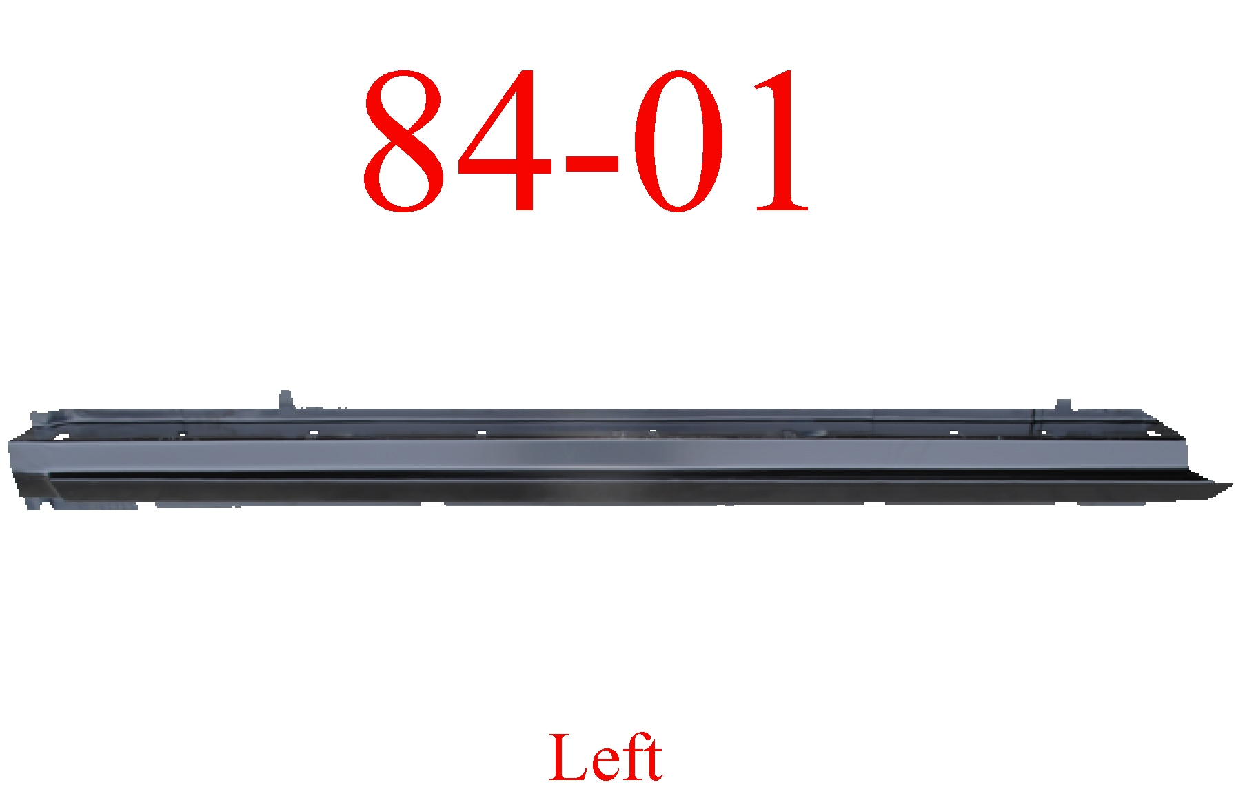 84-01 Jeep Cherokee Left Rocker Panel