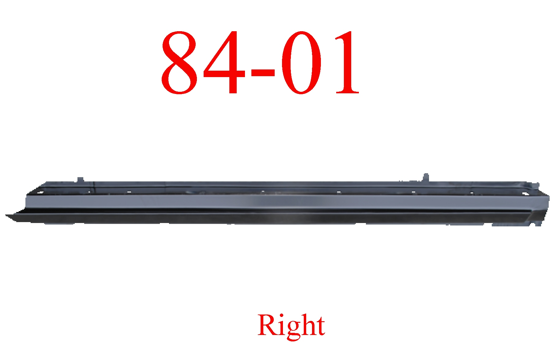 84-01 Jeep Cherokee Right Rocker Panel