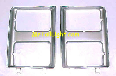 85-87 Chevy Truck Head Light Door Set W/Quad Head Light 2Pc