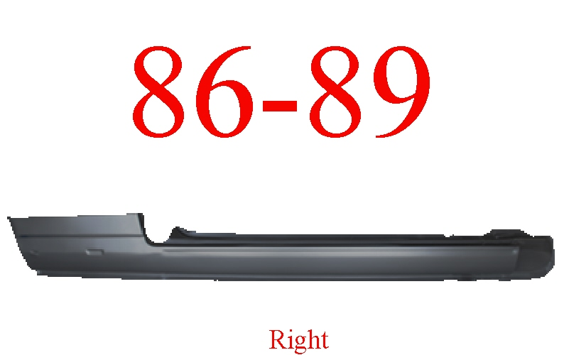 84-89 Toyota Celica Right Extended Rocker Panel