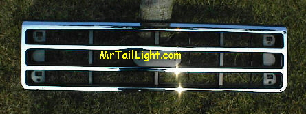 87-91 Ford Truck / Bronco Chrome Grill