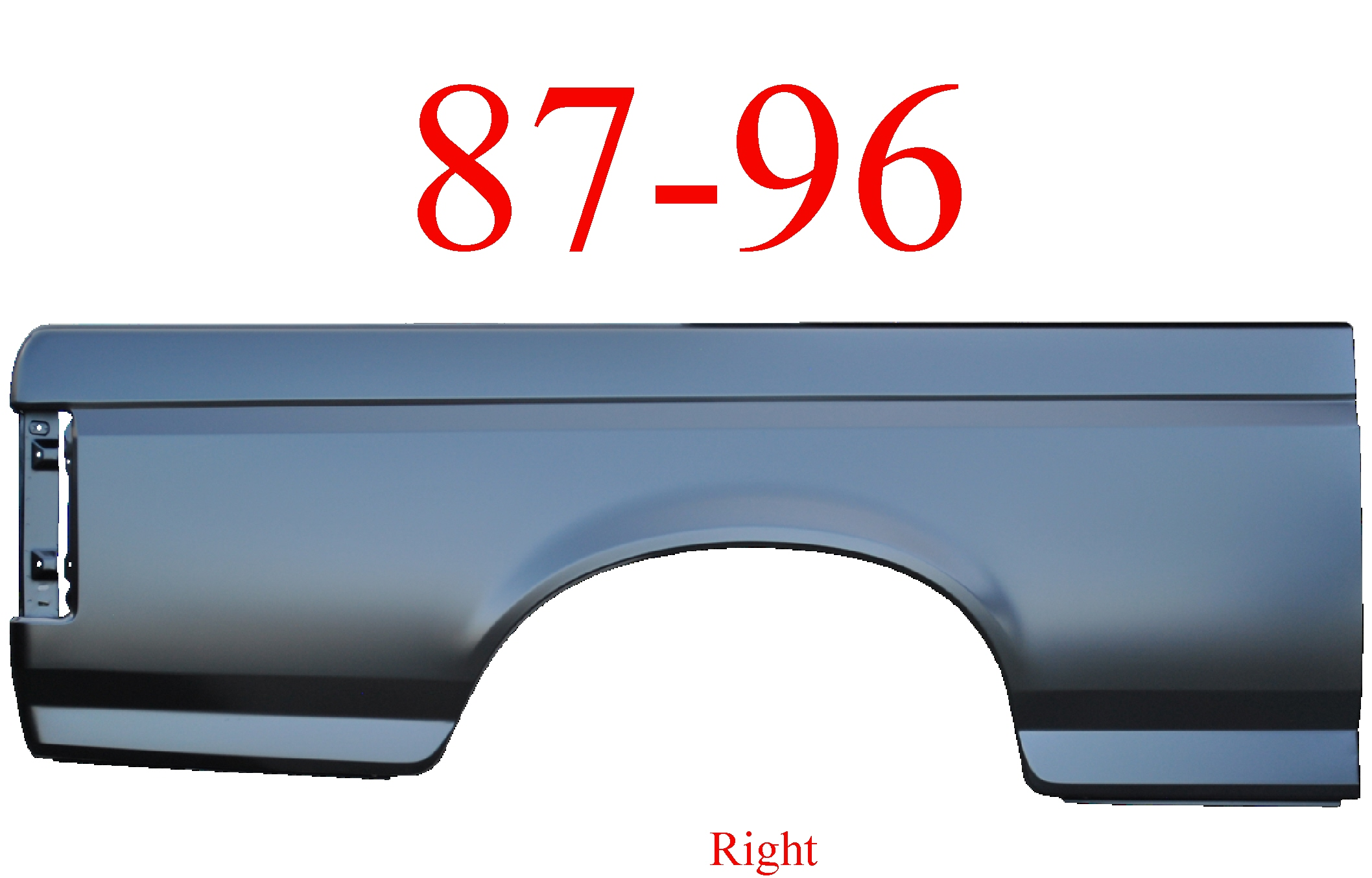 87-96 Ford Right 6.5' Bed Side
