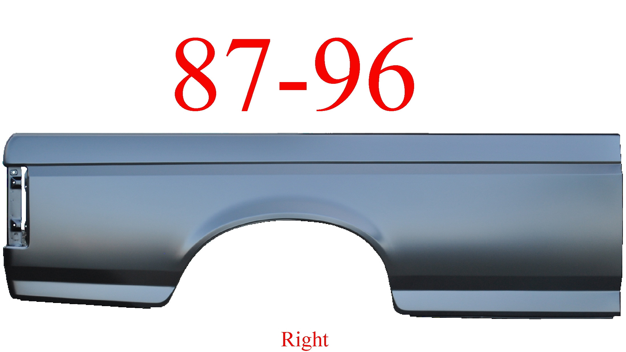87-96 Ford Right 8' Bed Side