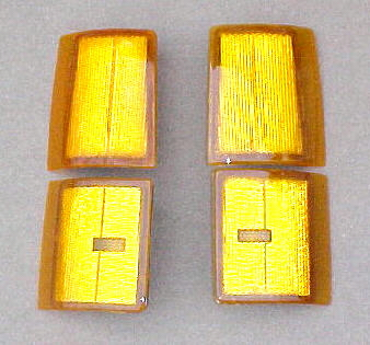 94-98 GMC 4Pc Amber Side Light Kit