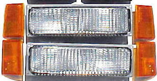 88-93 Chevy Truck 6Pc Front Light Kit