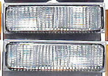 88-93 Chevy GMC 2Pc Stock Parking Light Set