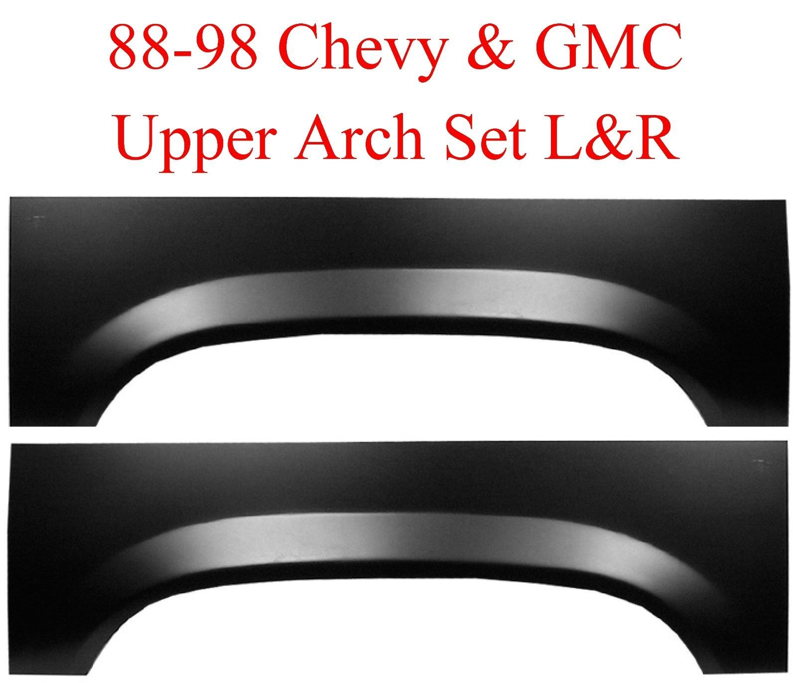 88-98 Chevy GMC Upper Rear Wheel Arch Repair Panel Set