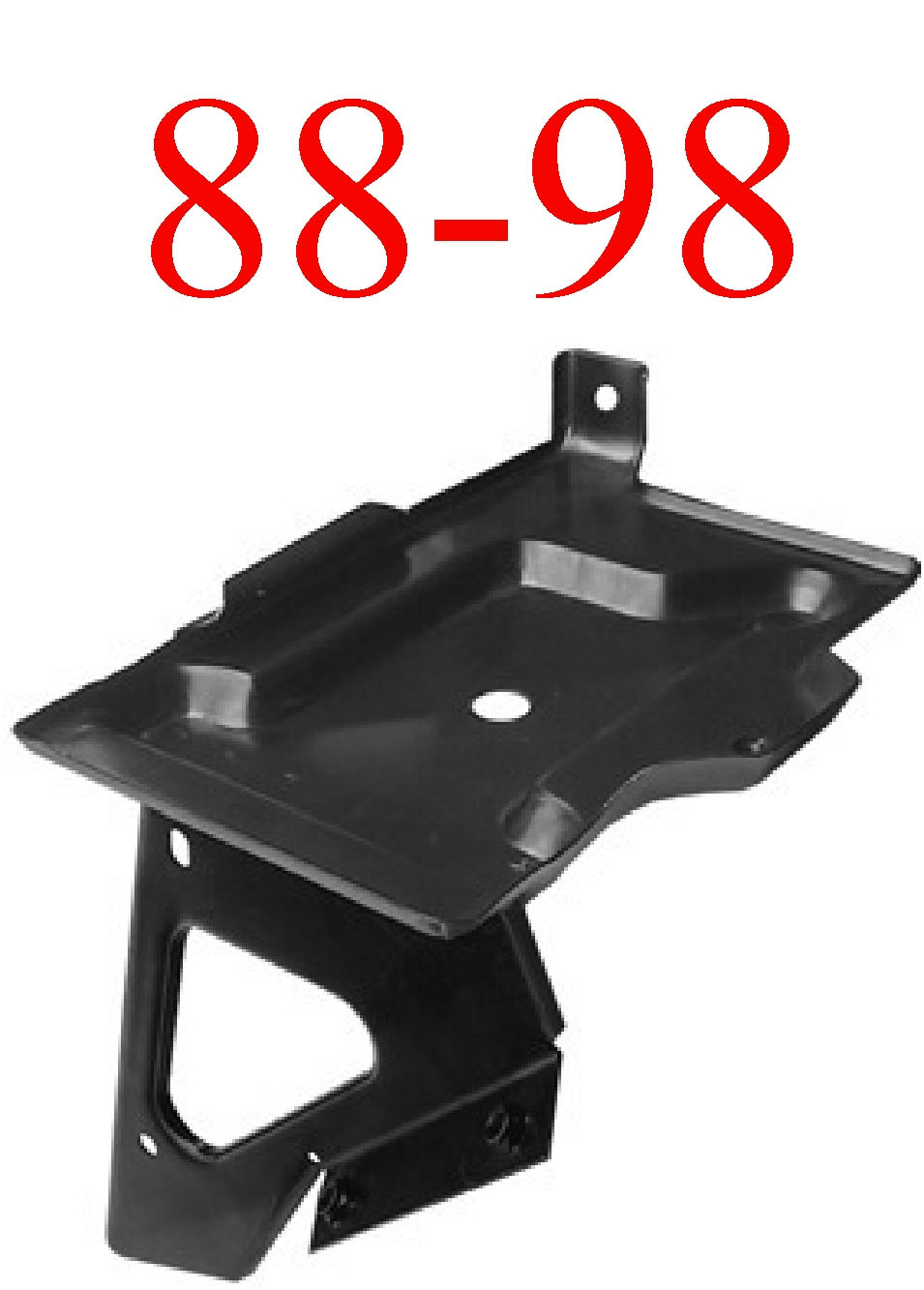 88-98 Chevy Battery Tray With Support GMC Truck