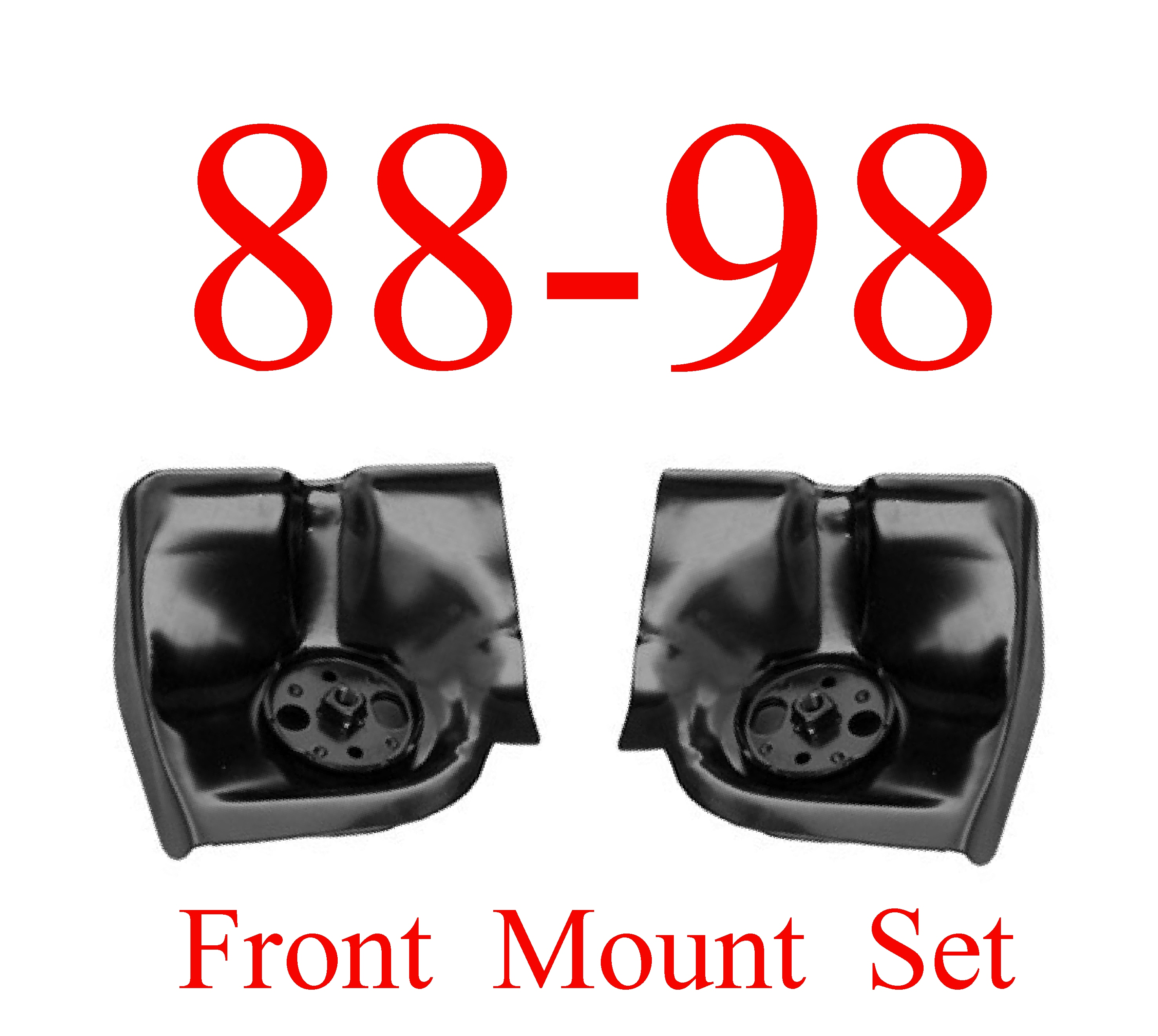 88-98 Chevy GMC Truck Front Cab Mount SET