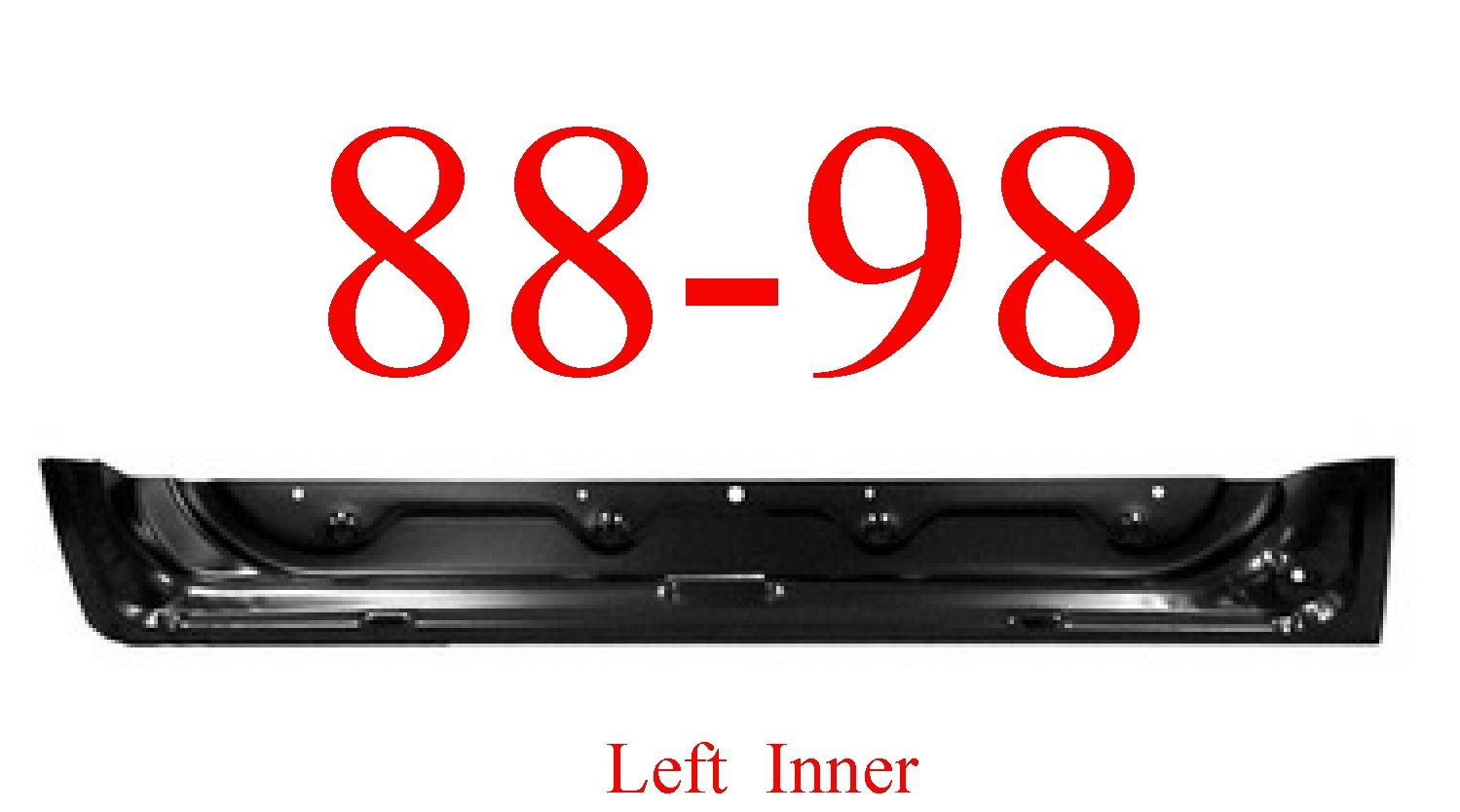 88-98 Chevy Left Front Inner Door Bottom