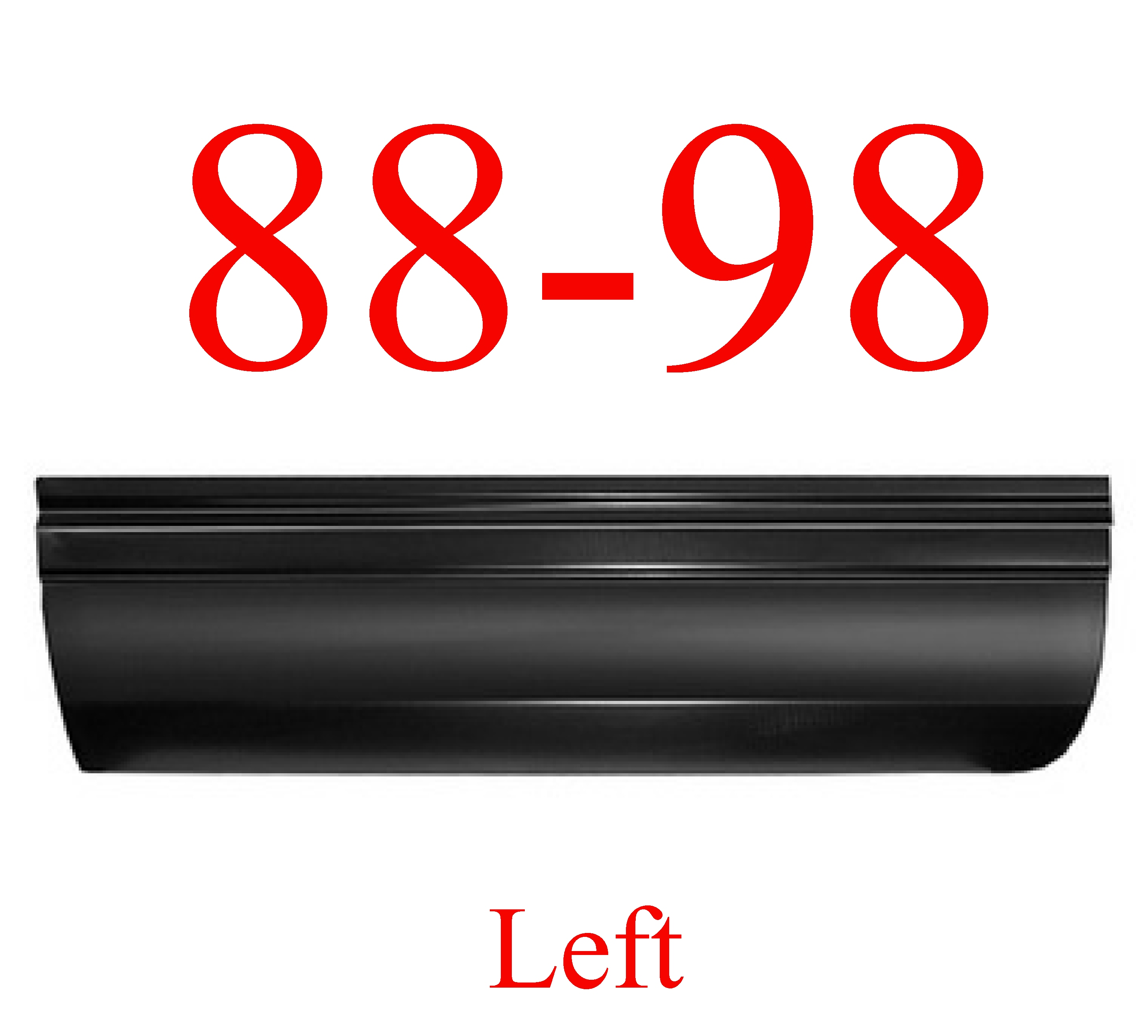88-98 Chevy GMC LEFT Front Lower Door Skin Panel