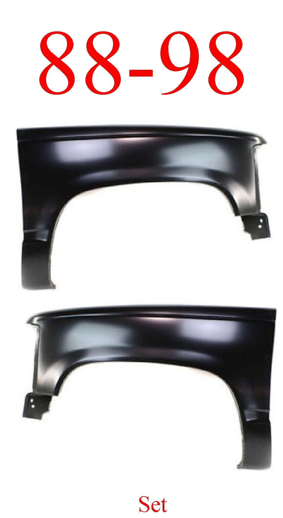 88-98 Chevy Front Fender Set