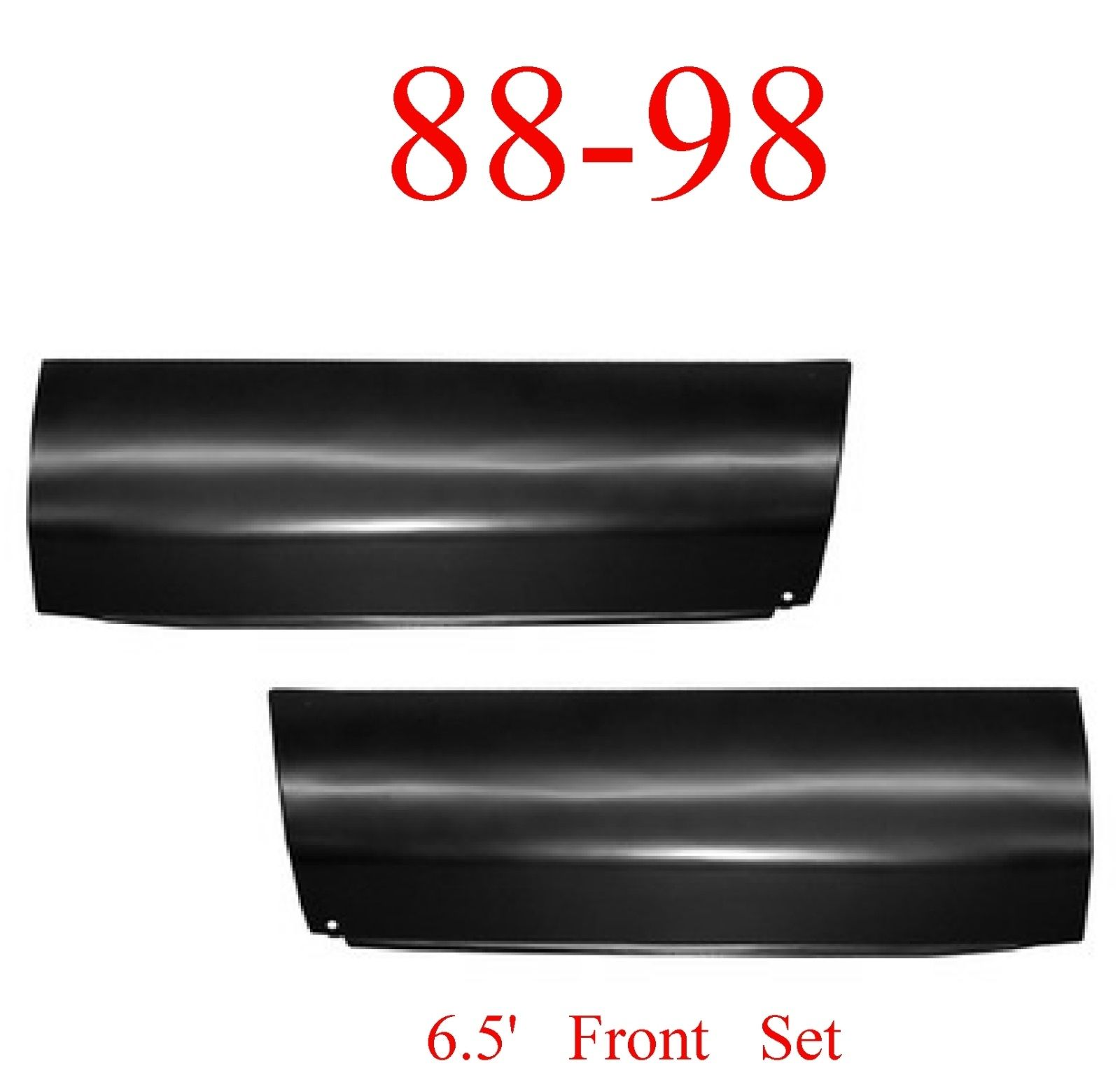 88-98 Chevy 6.5' Front Lower Bed Patch Set