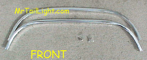 88-98 Chevy & GMC 2Pc Front Chrome Wheel Trim Kit