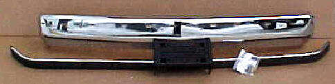 88-98 Chevy GMC 3Pc Chrome Bumper Kit