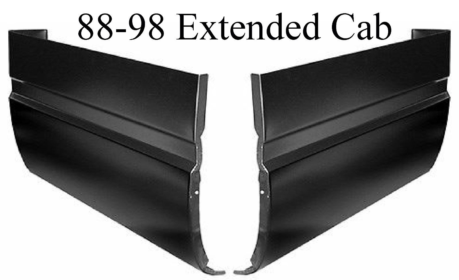 88-98 Chevy GMC Truck Extended Cab Corner Set 2Pc